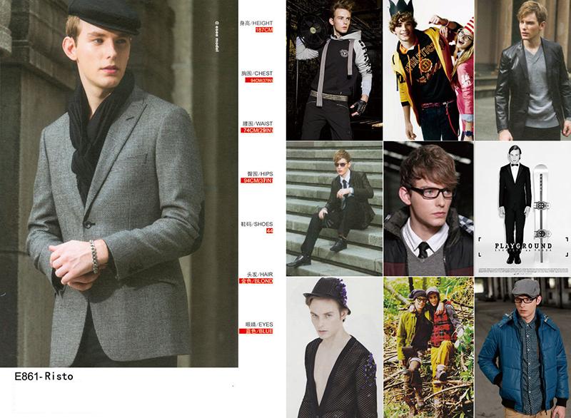 模特/E861/签约模特/模特摄影