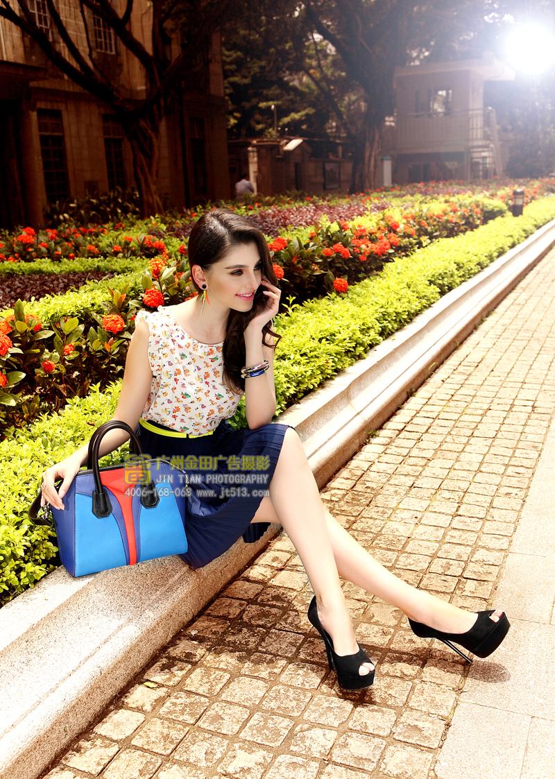 皮包摄影,女包摄影,模特摄影,广告摄影,广州金田摄影